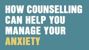 anxiety counselling helps