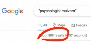 psychologist malvern psychotherapy