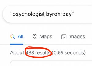 Psychologist Byron Bay